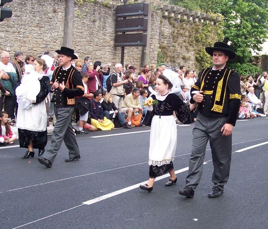 Photos des fetes de cornouaille : le grand défilé breton 101_3516