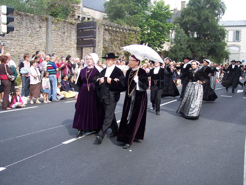 Photos des fetes de cornouaille : le grand défilé breton 101_3610