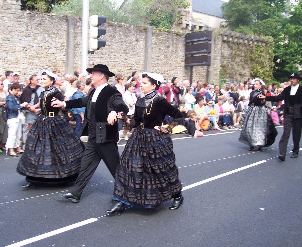 Photos des fetes de cornouaille : le grand défilé breton 101_3611