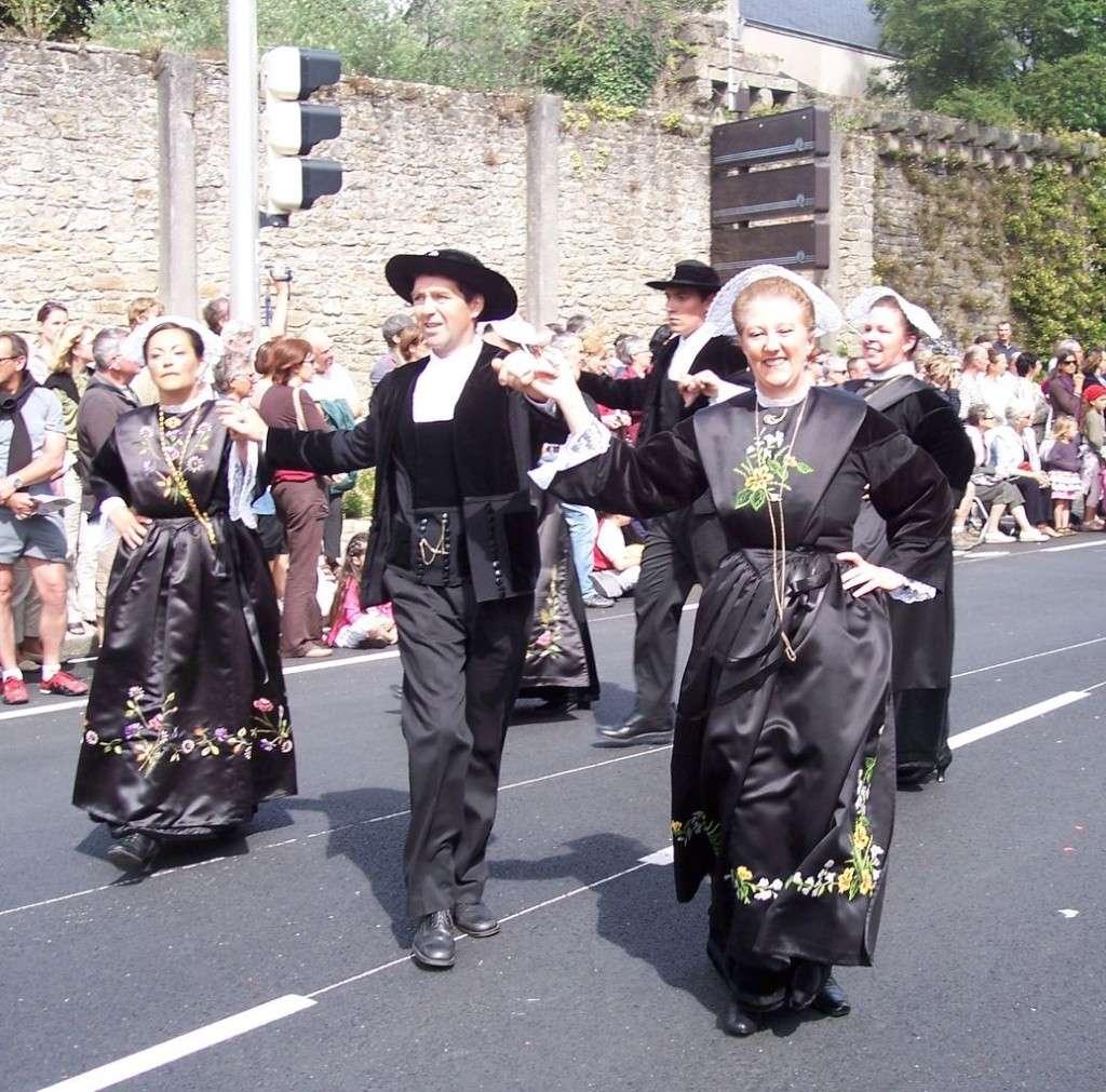 Photos des fetes de cornouaille : le grand défilé breton 101_3612