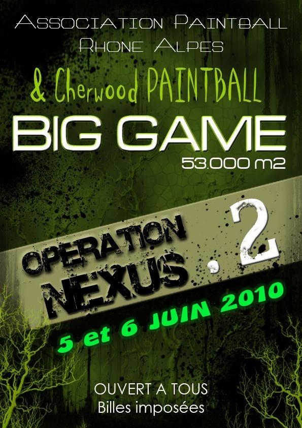 BIG GAME OPERATION NEXUS 2 ( 5 & 6 juin 2010 ) Affich19