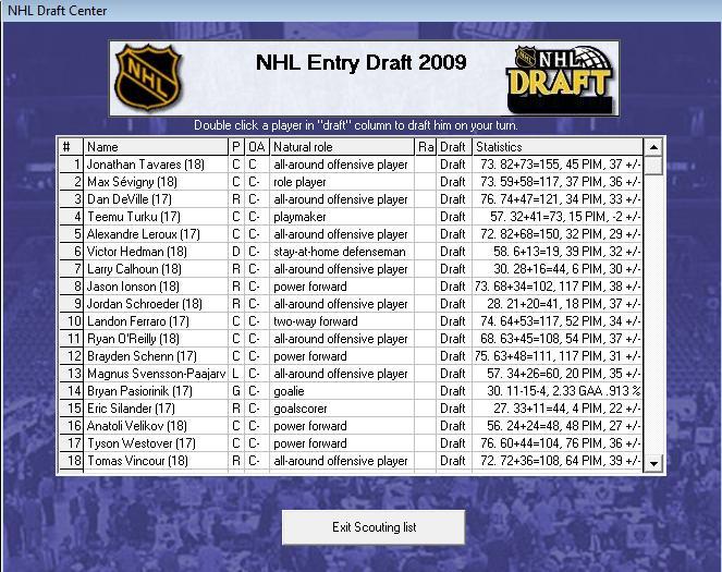 Draft off-season 7-8 Draft110