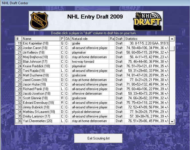 Draft off-season 7-8 Draft210