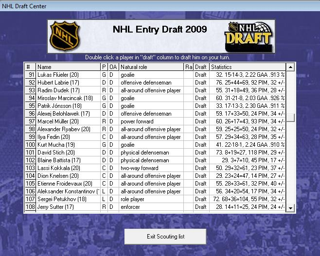 Draft off-season 7-8 Draft610
