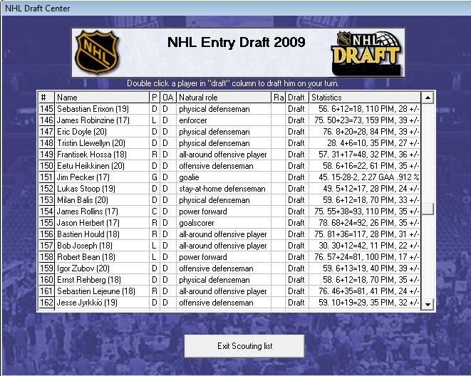 Draft off-season 7-8 Draft910