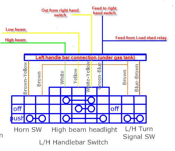 Headlamp switch repair Left_h10