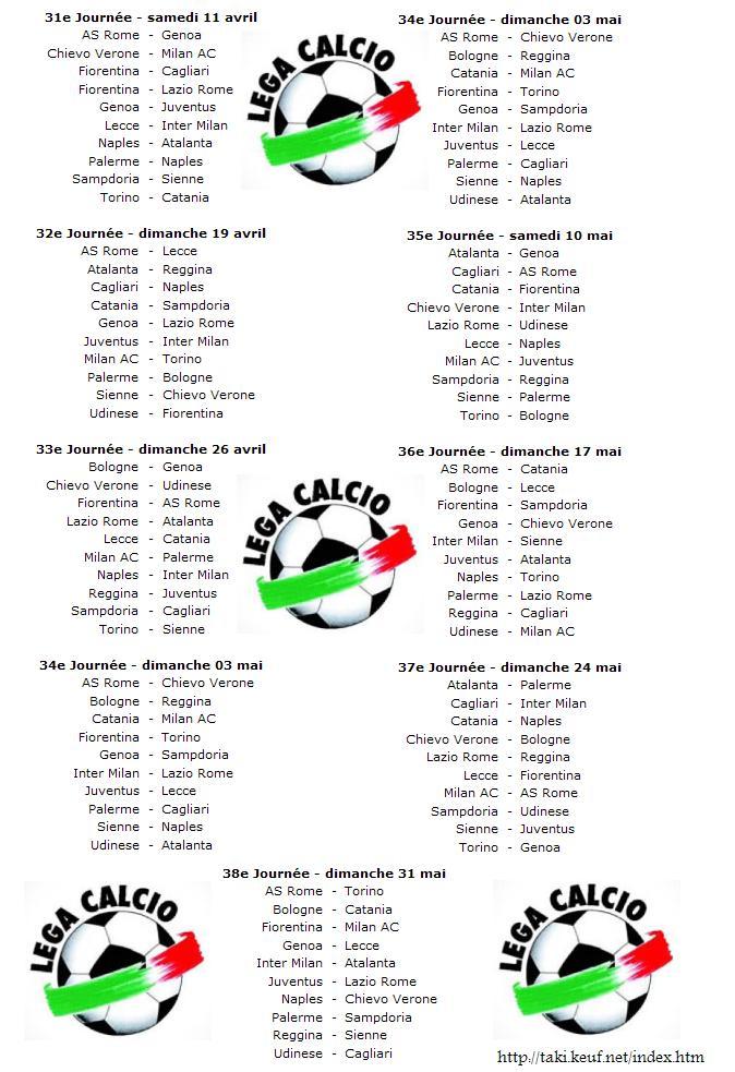 Calcio Serie A 2008/2009 Calcio10
