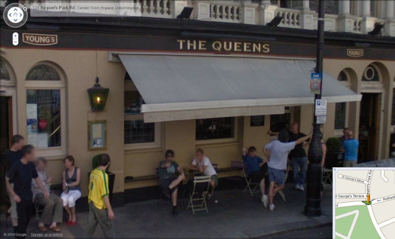 STREET VIEW : Liam Gallagher au pub, Londres Liam10