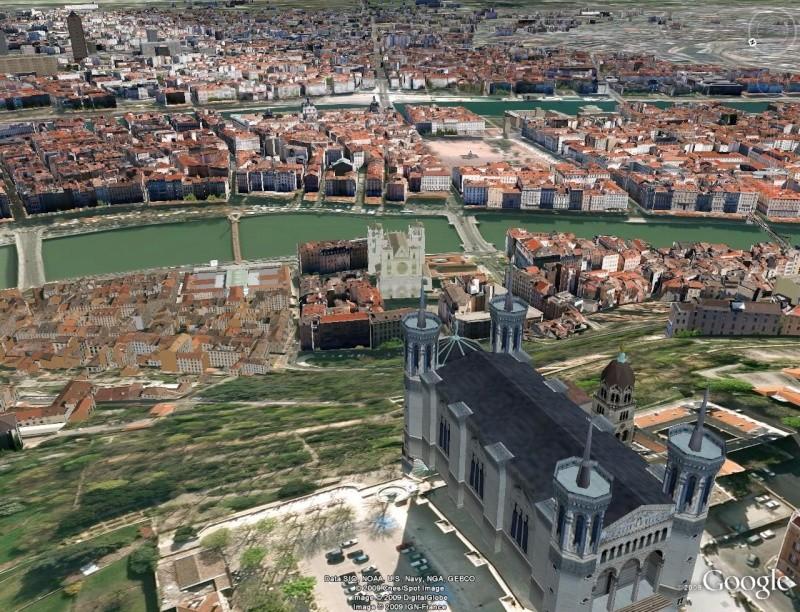 Bâtiments 3D avec textures - France [Sketchup] Lyon10