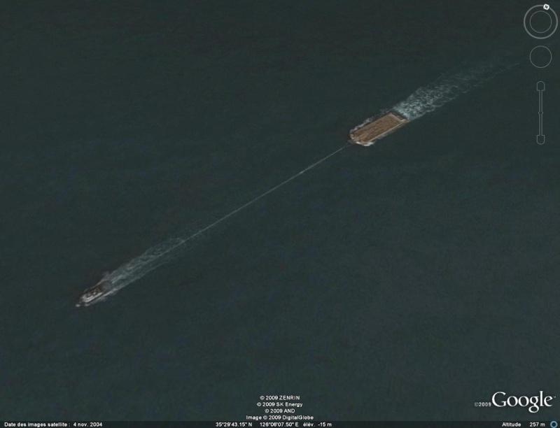 Navires remorqueurs sur Google Earth Remorq10