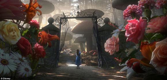 Tim Burton Takes on Alice in wonderland! Origin13