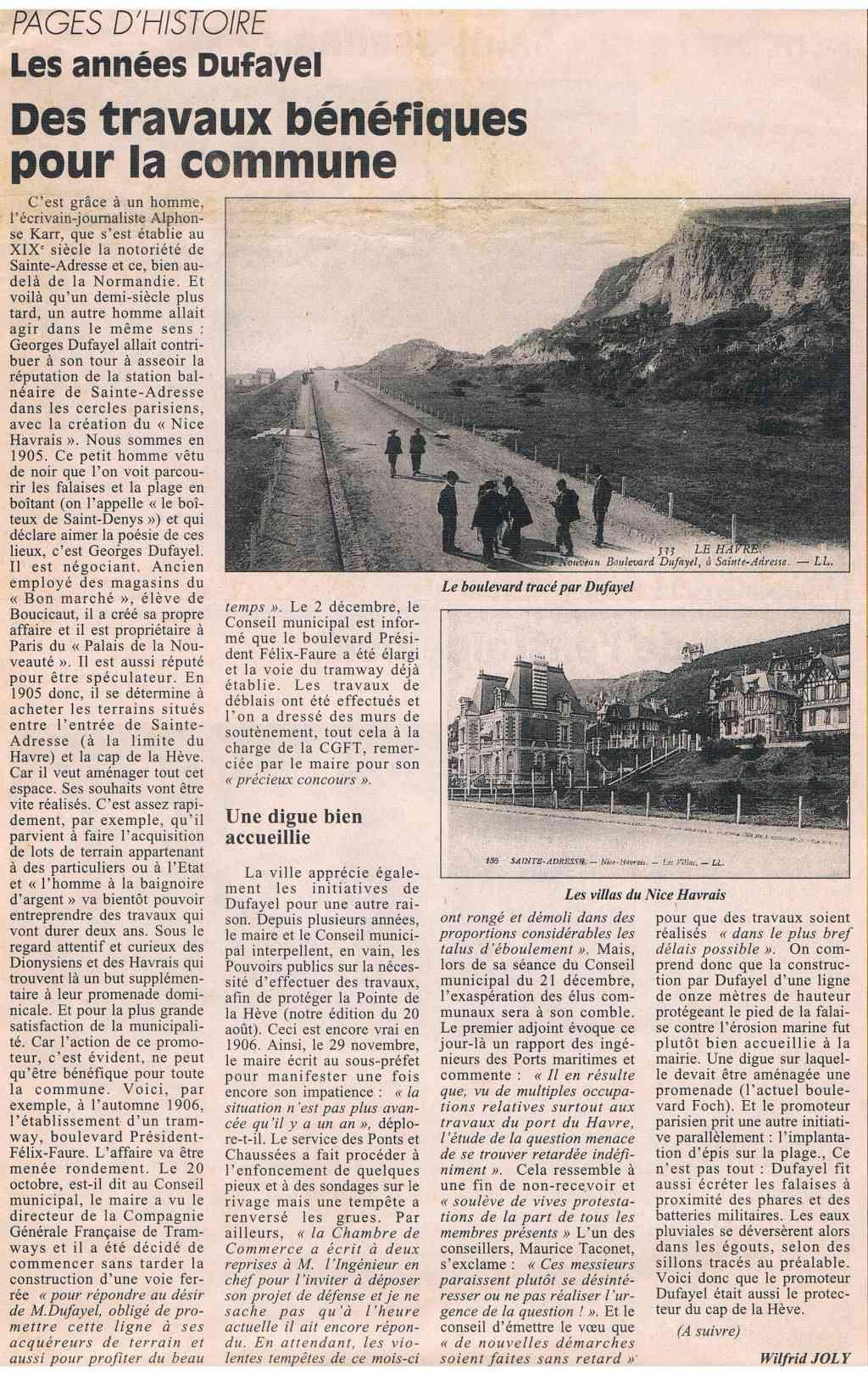 Sainte-Adresse - Les années Dufayel 1997-012