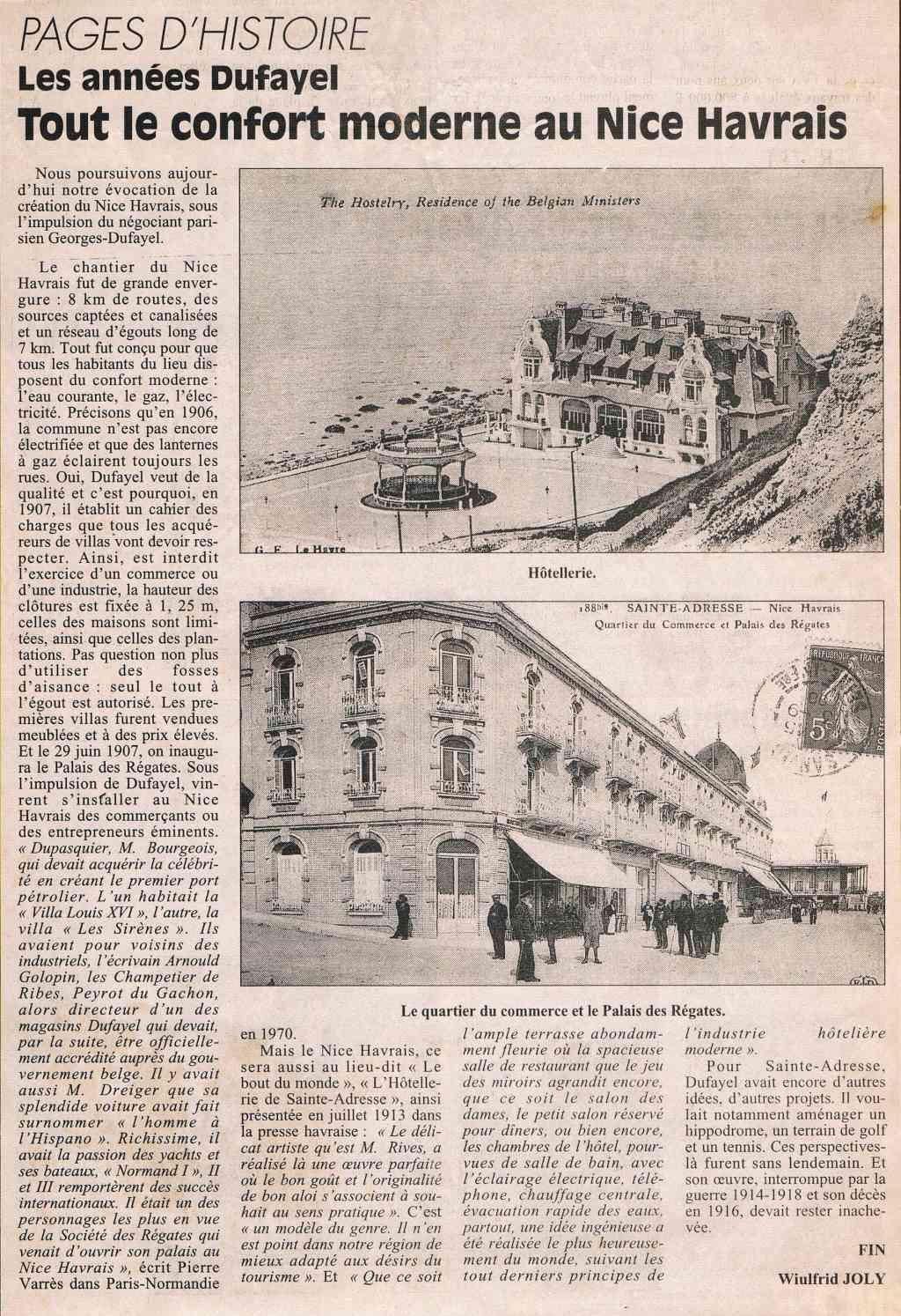 Sainte-Adresse - Les années Dufayel 1997-013