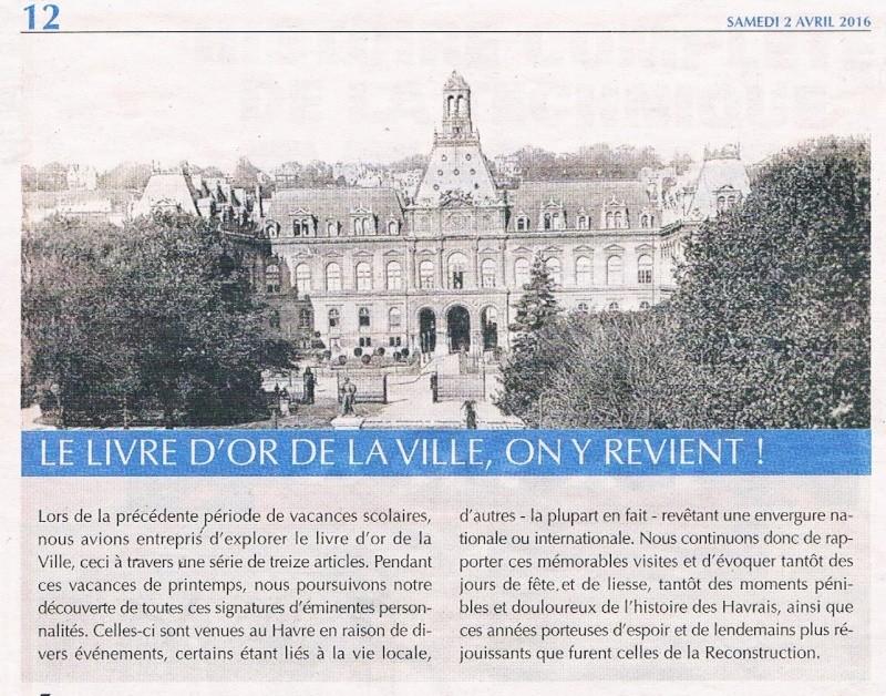 bolbec - Découverte du Livre d'or de la Ville du Havre 2016-025