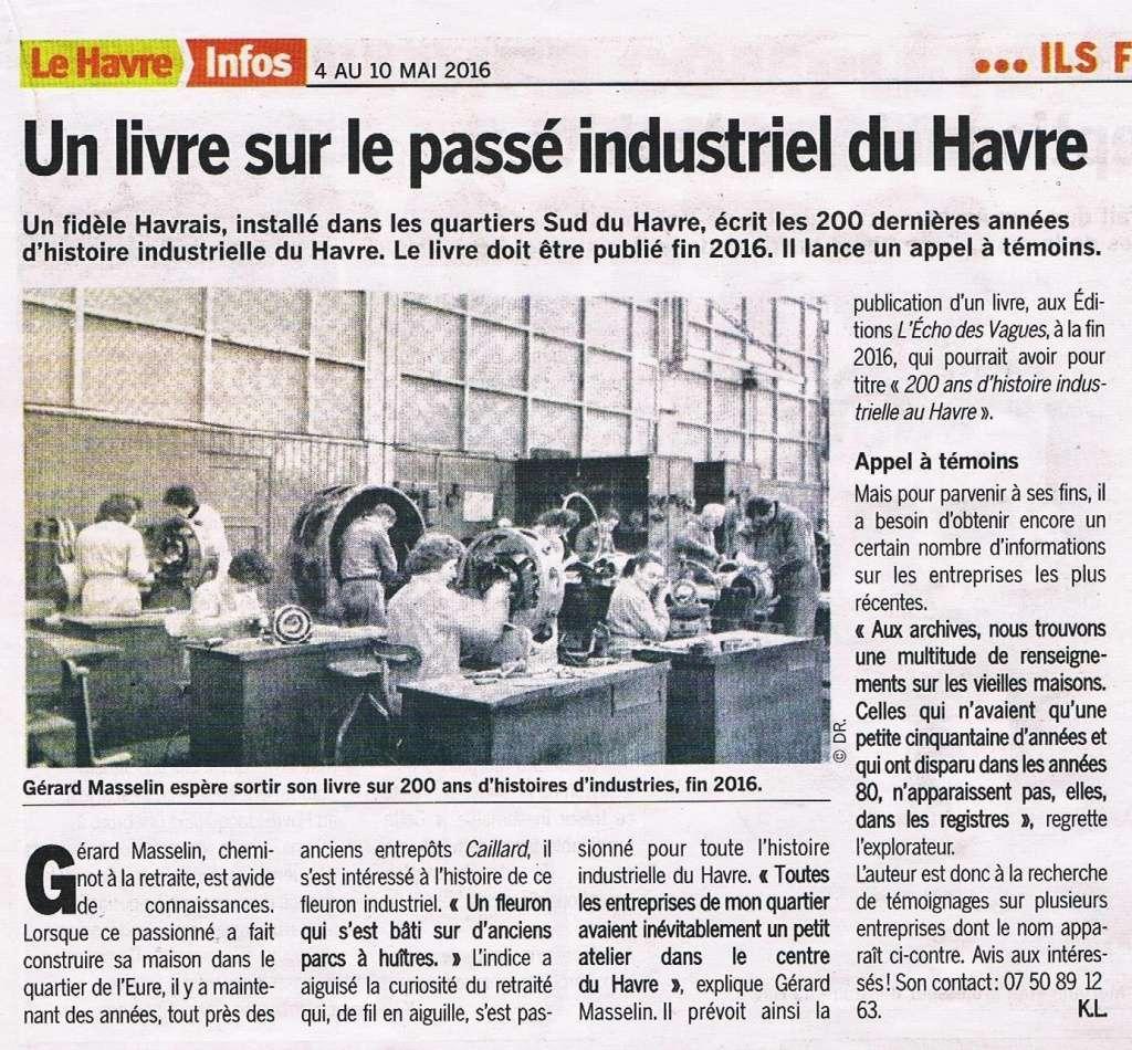 Havre - La vie industrielle du Havre par MASSELIN 2016-054