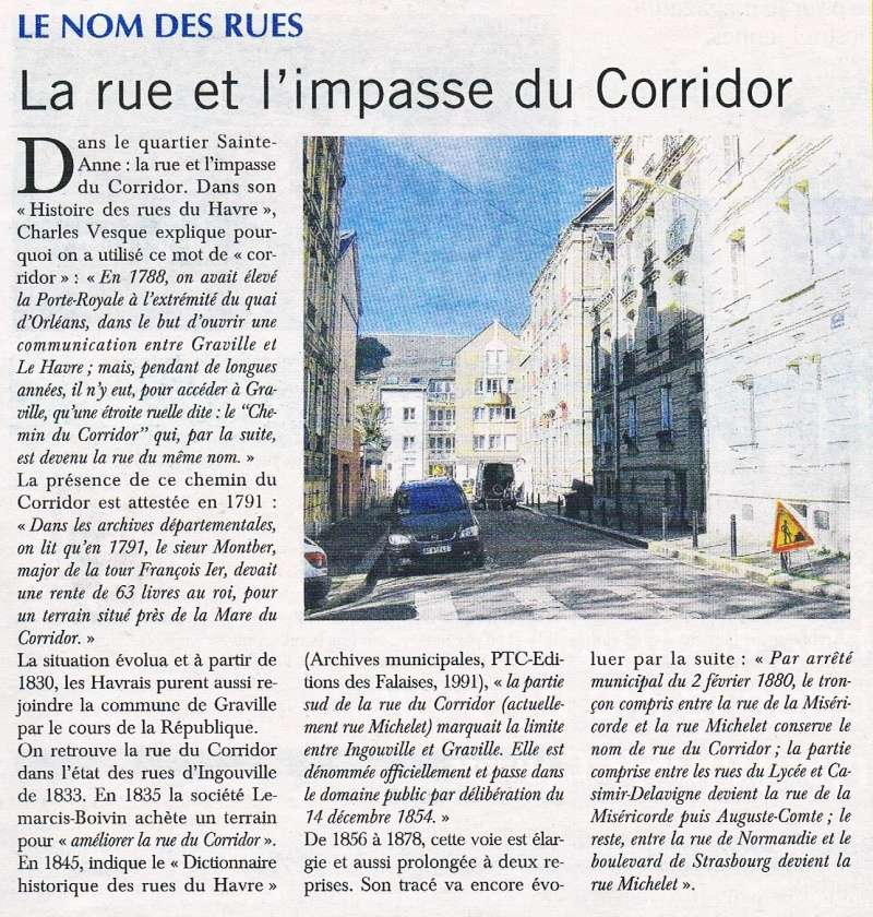 Havre - Le Havre - Rue du Corridor (et impasse) 2016-062