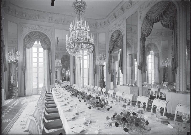 Un président chez le roi - De Gaulle à Trianon Table_10