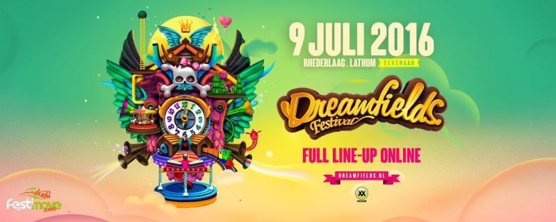 DREAMFIELDS FESTIVAL - 9 Juillet 2016 - Recreatieterrein Rhederlaag, Lathum - NL 12901010