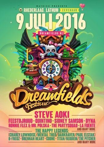 DREAMFIELDS FESTIVAL - 9 Juillet 2016 - Recreatieterrein Rhederlaag, Lathum - NL Dreamf10
