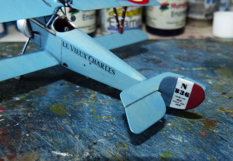 [1916] Toko - Nieuport 11 de Georges Guynemer. Nieupo23