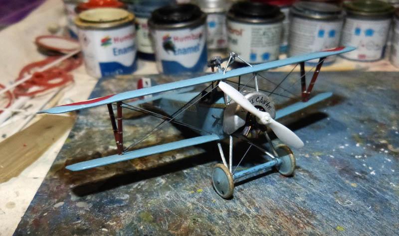 [1916] Toko - Nieuport 11 de Georges Guynemer. Nieupo32