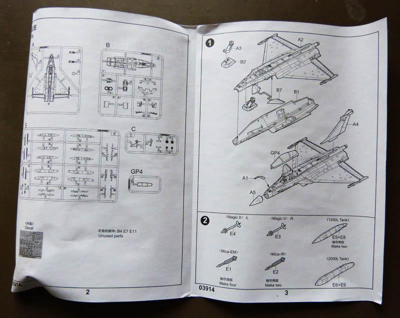 [Trumpeter] Dassault Rafale M - 1/144 Rafale12