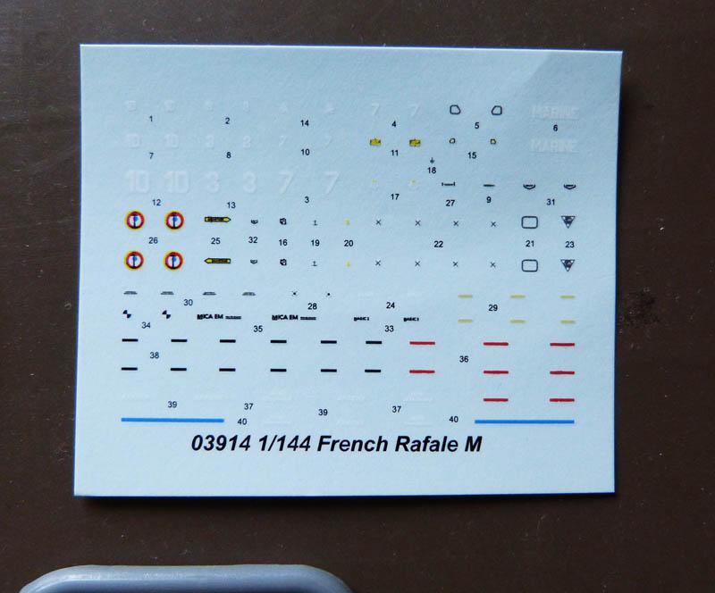 [TRUMPETER] DASSAULT RAFALE M 1/144ème Réf 03914 Rafale14