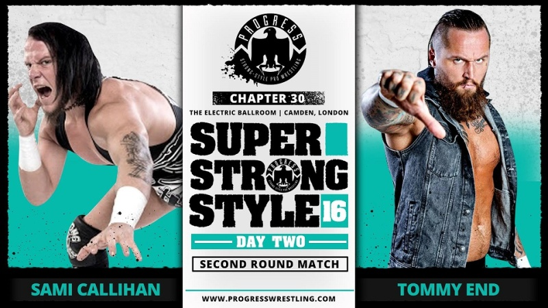 PROGRESS Chapitre 30: Super Strong Style 16 Day 2 (30/05/16) 0110