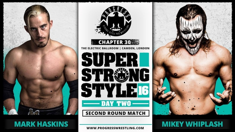 PROGRESS Chapitre 30: Super Strong Style 16 Day 2 (30/05/16) 0310
