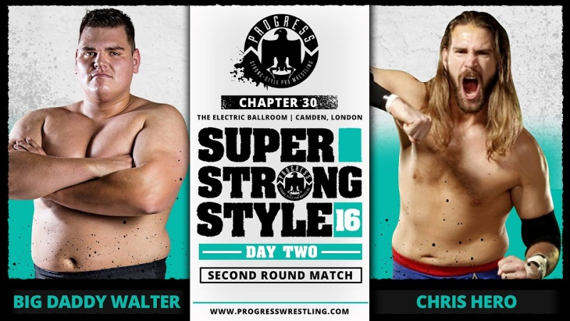 PROGRESS Chapitre 30: Super Strong Style 16 Day 2 (30/05/16) 0410