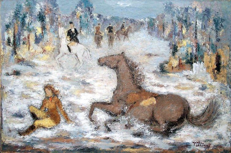 Cherche idée tableau de maitre représentant un cheval  103-ch10