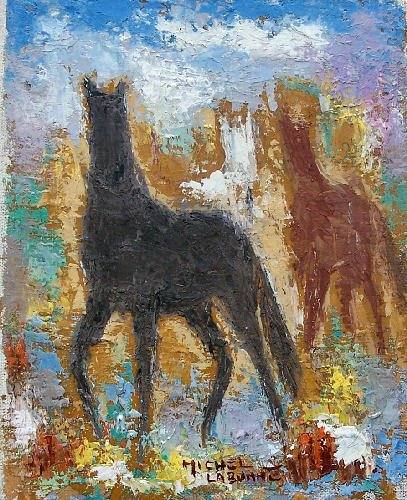 Cherche idée tableau de maitre représentant un cheval  379-3_10