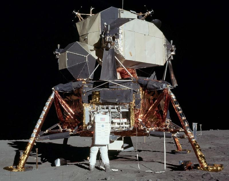 20 Juillet 1969 - L'Homme sur La Lune - 40ème anniversaire Apollo15