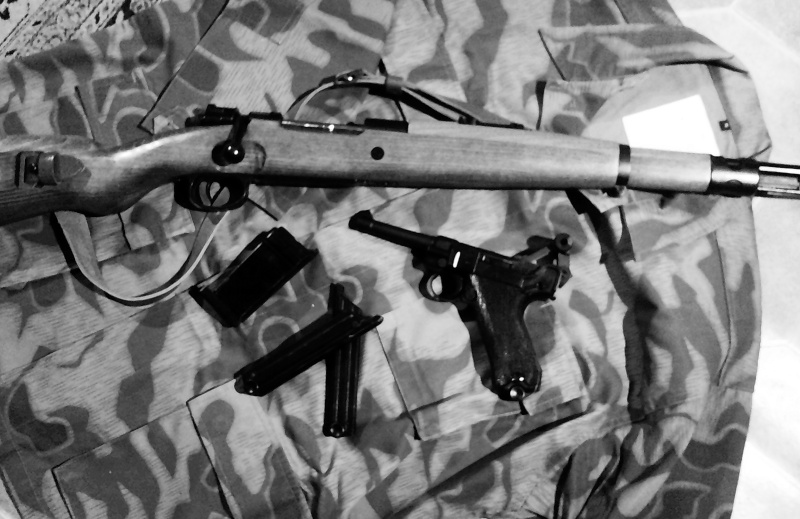 Mes répliques allemande WW2 Kar210