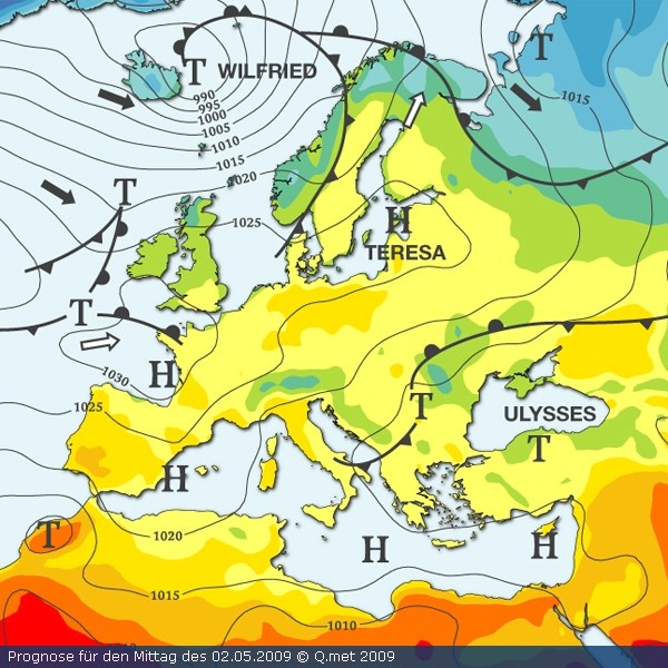 Bulletin météo 2009 - Page 2 Europa10