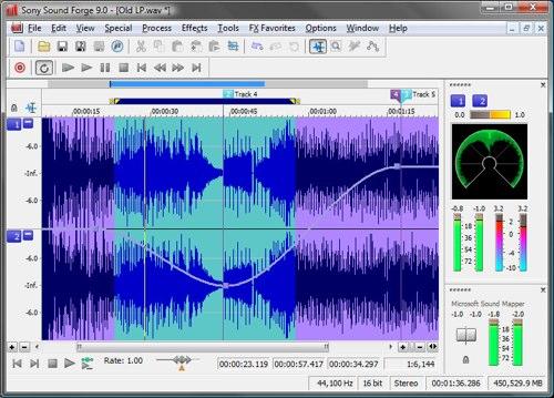 Sony Sound Forge 9 + Key Soundf10
