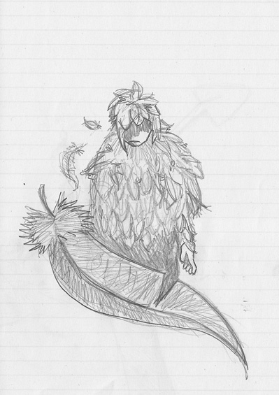 Enki est gaga. [dessins en vrac] Monstr11
