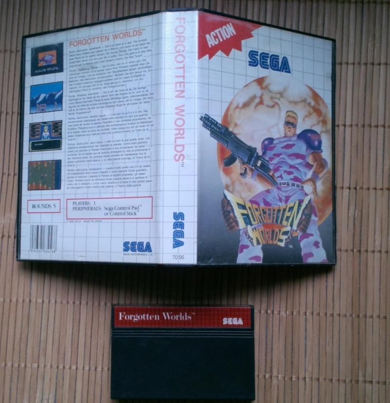 Mes ventes Master System Forgot10