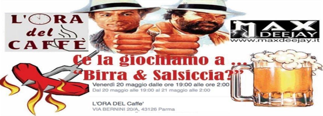 Birra Caduta E Salsiccia in Compagnia Di Max DJ 20magg10