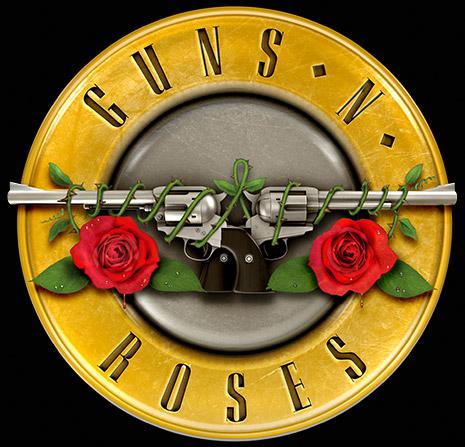 I Guns N' Roses al lavoro su nuova musica Logo10