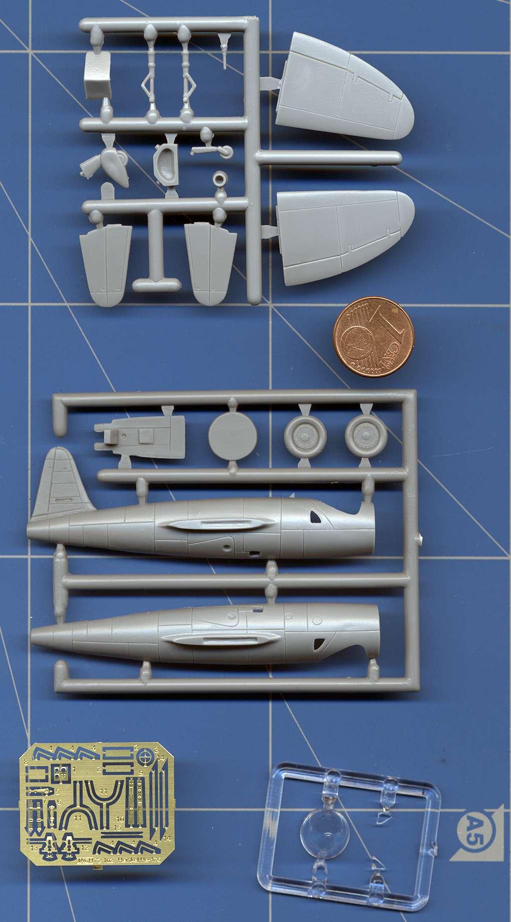 Heinkel He 176 - Le stylo fusée - (JACH #72102) He_17611