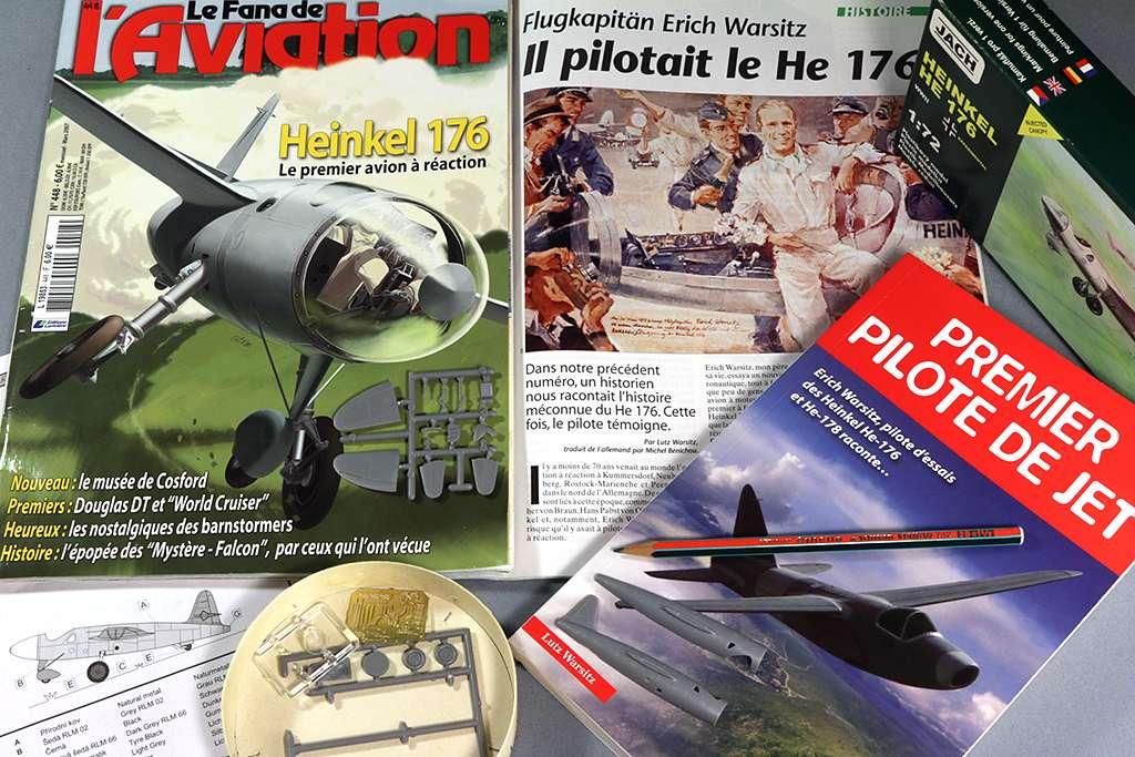 Heinkel He 176 - Le stylo fusée - (JACH #72102) Img_6667