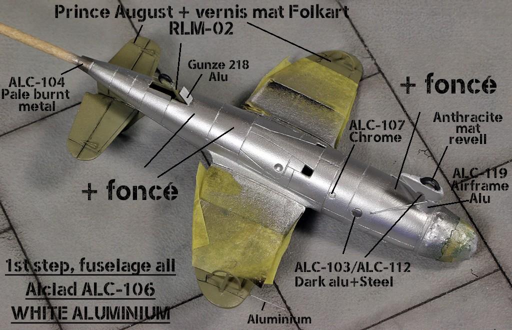 Heinkel He 176 - Le stylo fusée - (JACH #72102) Img_6683