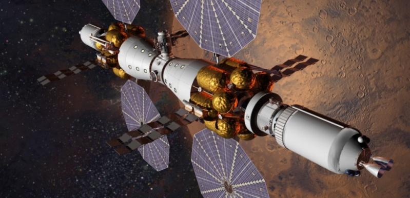 Proposition de Lockheed-Martin pour une mission orbitale martienne habitée en 2028 15156910