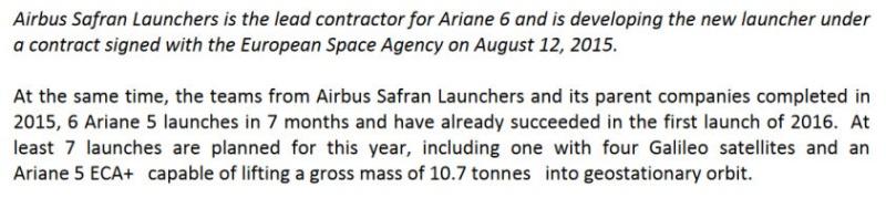 Lancement Ariane 5 ECA VA231 / GSAT-18 & Sky Muster 2 - 4 octobre 2016 - Page 4 Annonc11