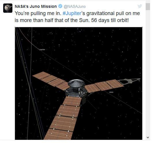 Juno - Mission autour de Jupiter - Page 3 Tweet_10