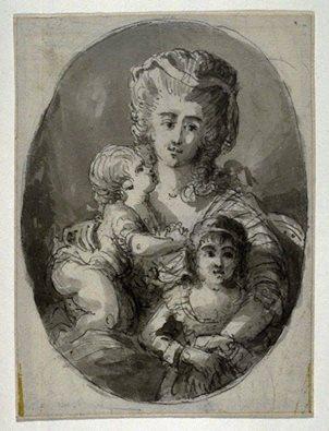 Portraits de Marie Antoinette avec ses enfants - Page 2 12924511