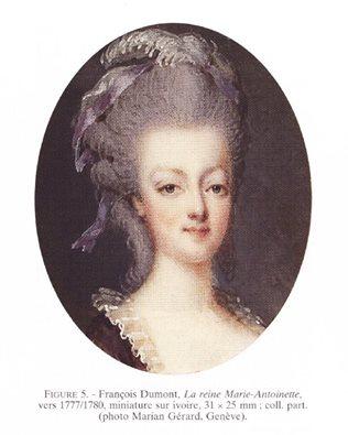 Marie Antoinette, miniatures attribuées à ou d'après François Dumont - Page 2 13100910