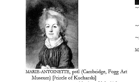 Autres portraits de Marie-Antoinette par Kucharsky 13124610