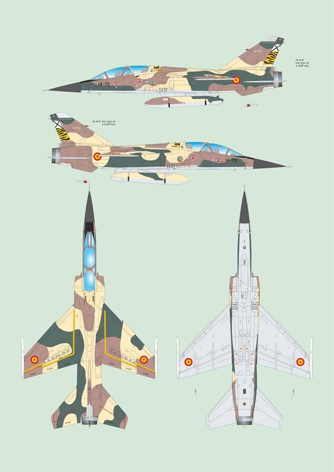 [SPECIAL HOBBY]  DASSAULT MIRAGE F 1B/BE 1/72ème Réf SH72291 13015210